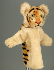 This tiger puppet is in the National Museum of Play, http://www.museumofplay.org/online-collections/