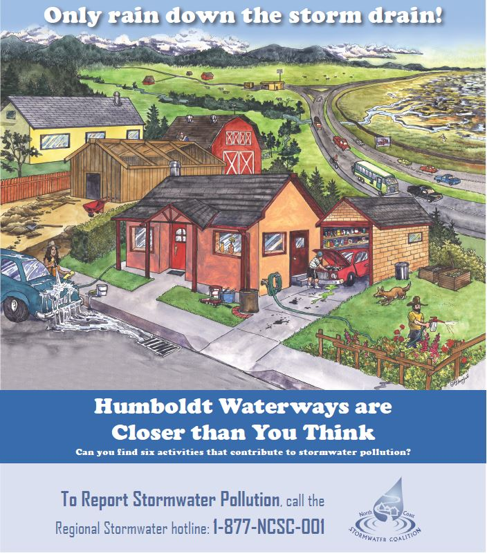 Humboldt Waterways Poster