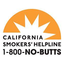 California Smokers' Helpline 1-800-NO-BUTTS