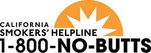 California Smokers' Helpline:1-800-NO-BUTTS - NoButts.org
