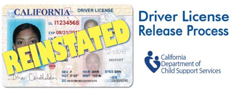 Drivers License Reinstated