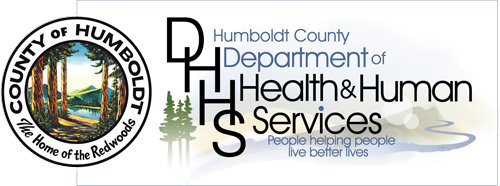 DHHS logo with embedded county seal, people helping people live better lives
