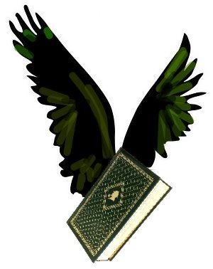 Image, a hardcover book with eagle wings.