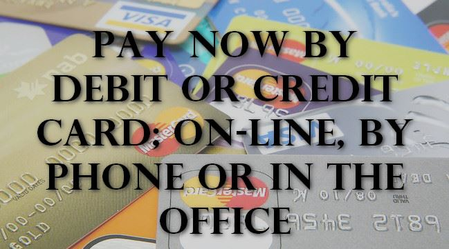 Pay Now by Debit or Credit