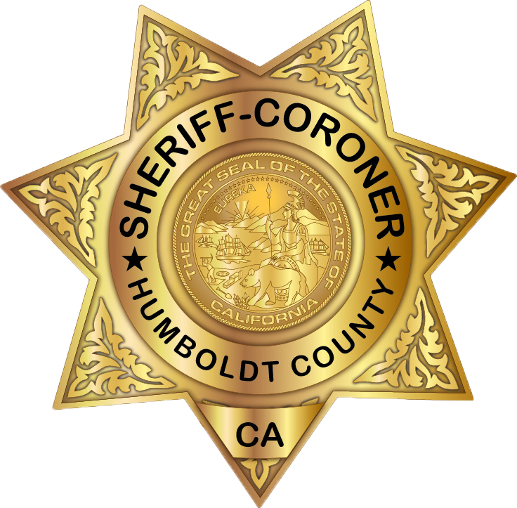 Humboldt County Sheriff's Office star