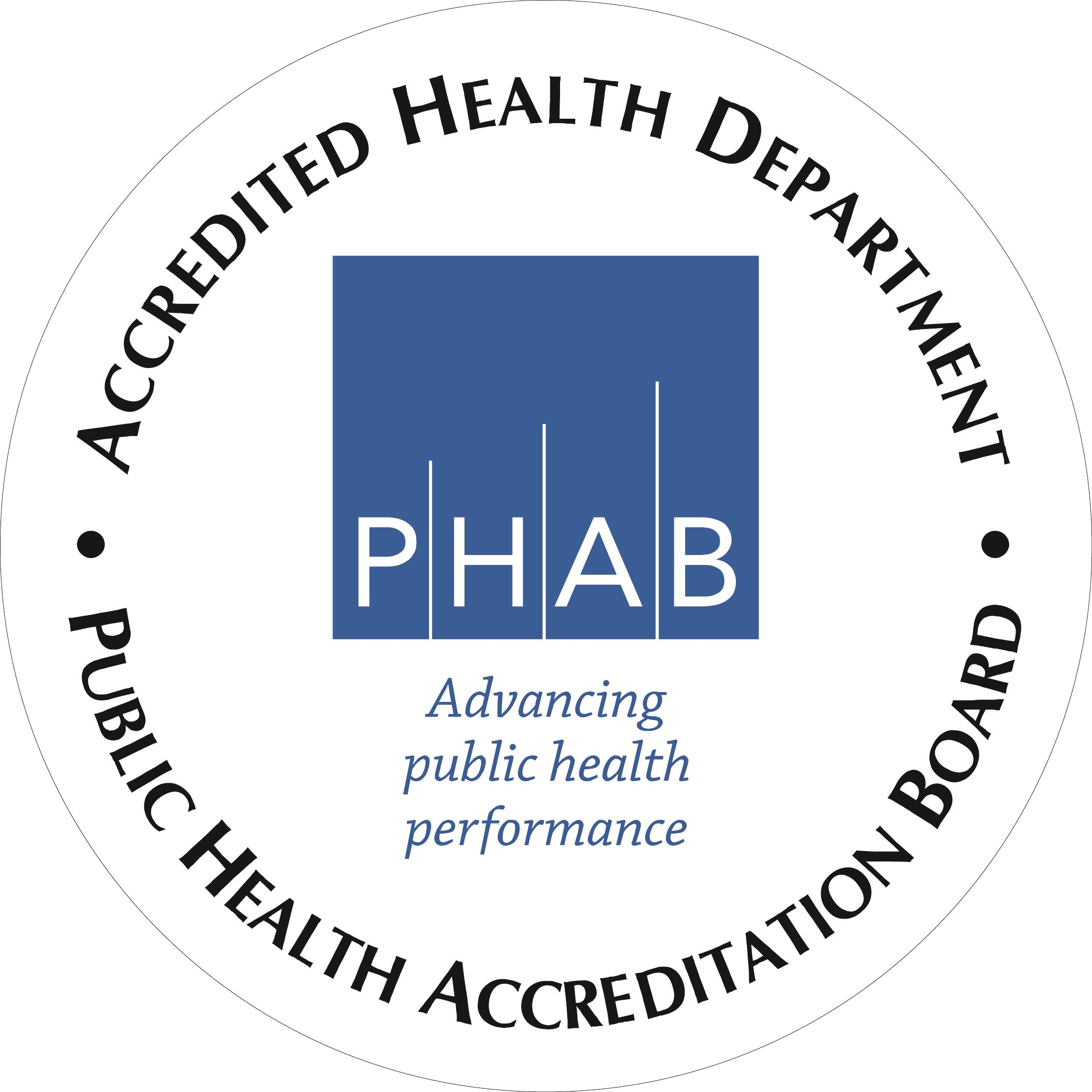 Public Health Accreditation Board, Accredited Health Department