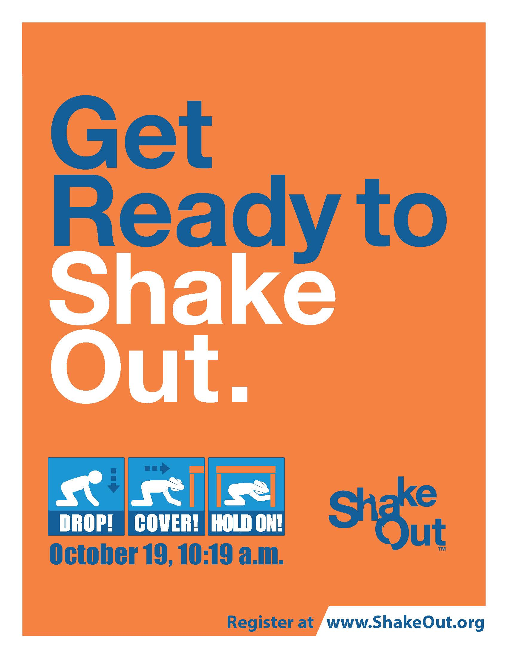 ShakeOut Poster