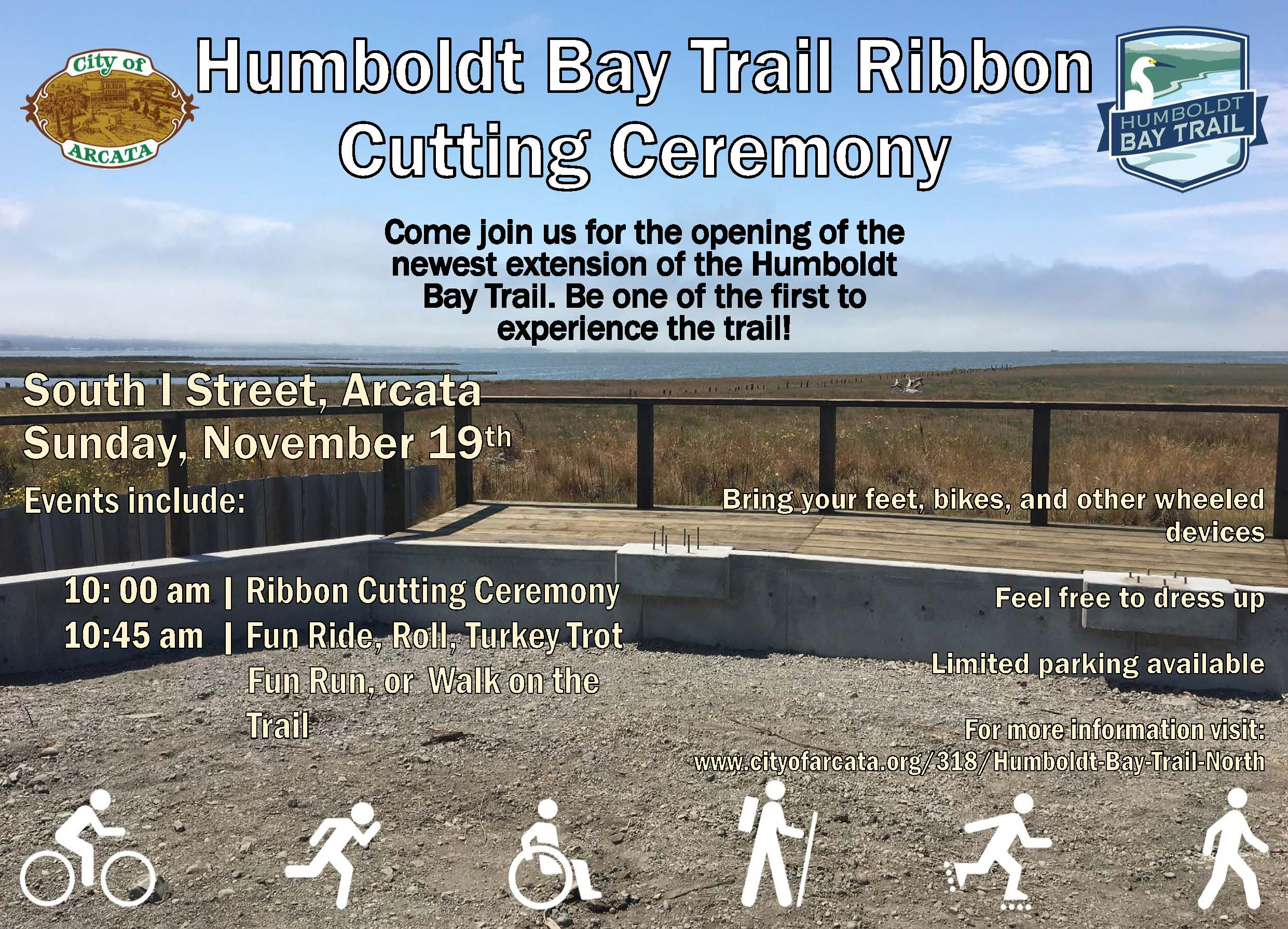 Humboldt Bay North Ribbon Cutting Ceremony Flyer