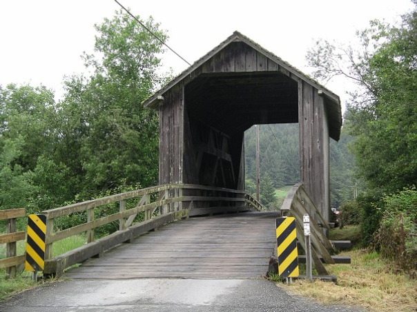 Berta Ranch Covered Bridge