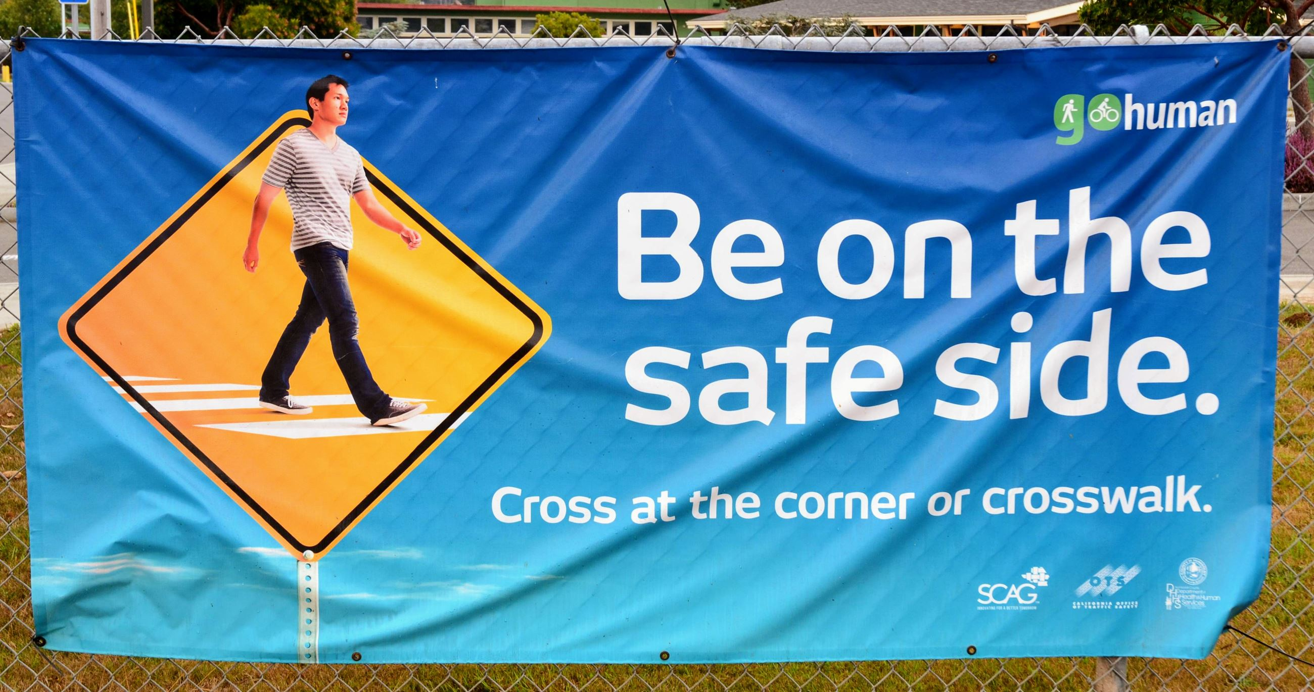 Safe Crossing Banner