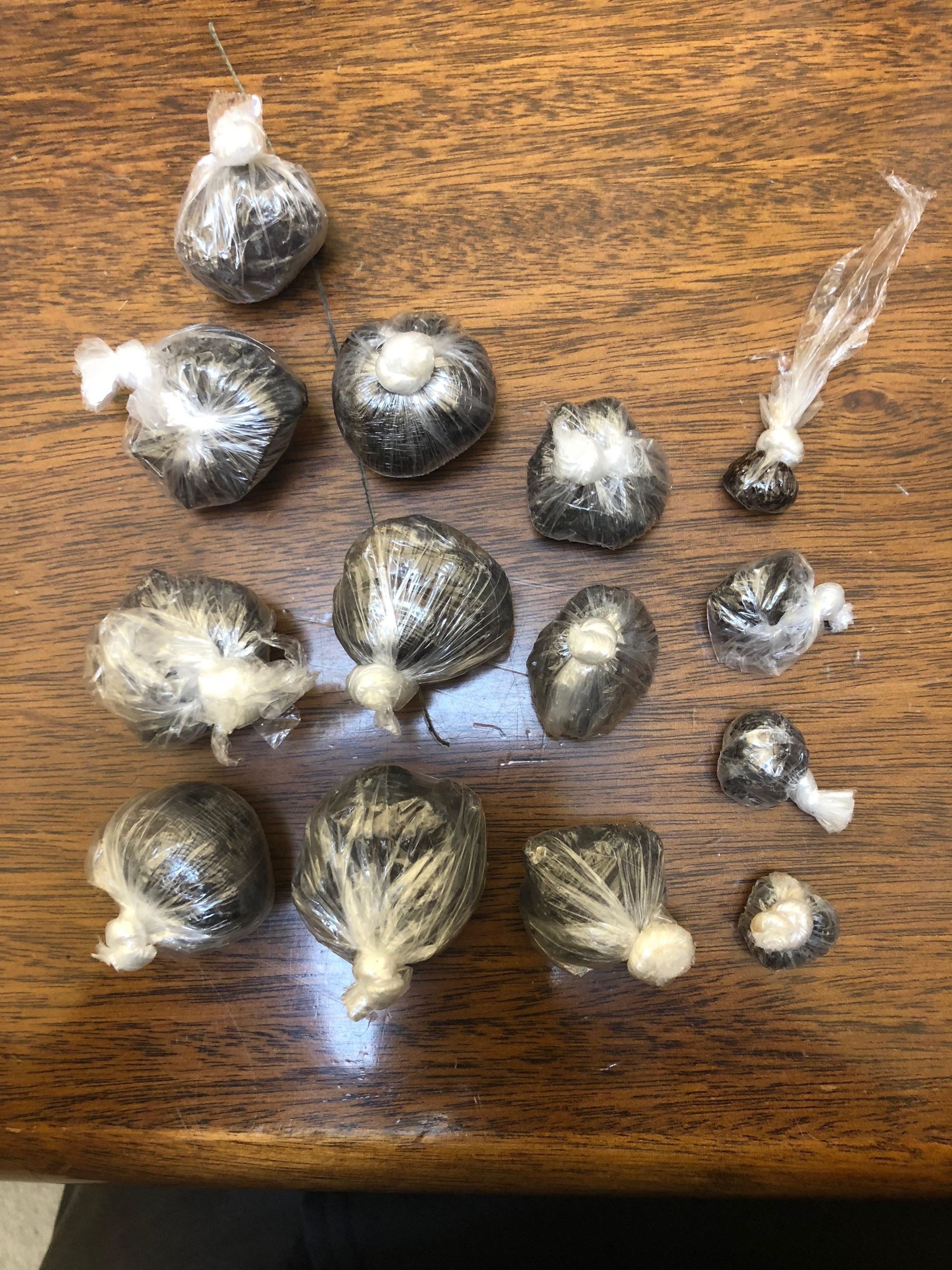 Heroin seized during a DTF operation in 2018.
