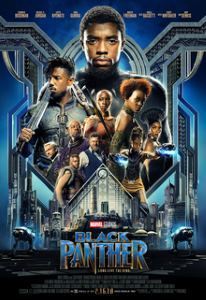 King T'Challa & the Heroes of Wakanda look dangerous on the film poster.