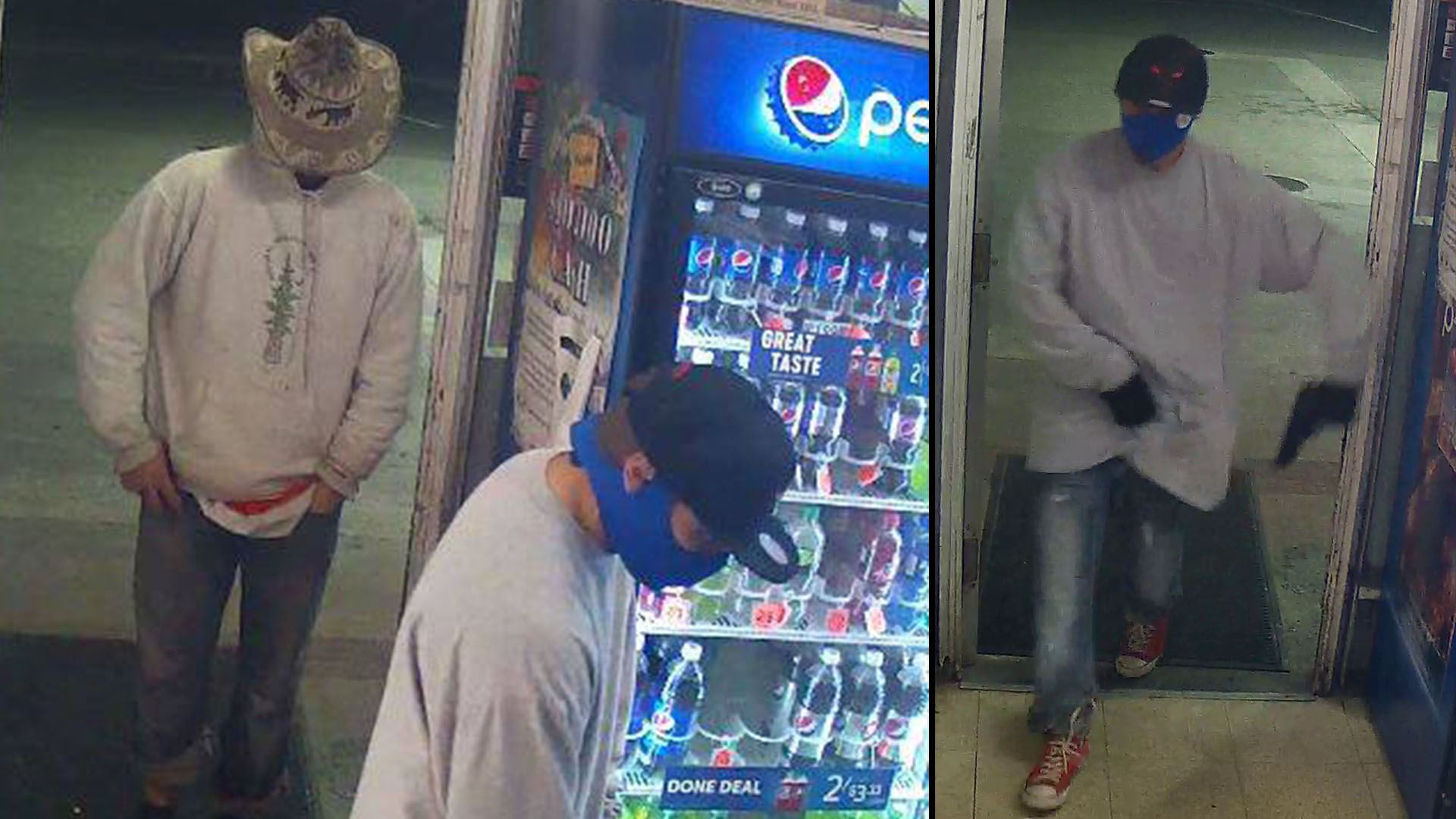 Robbery surveillance from Nov 20, 2018