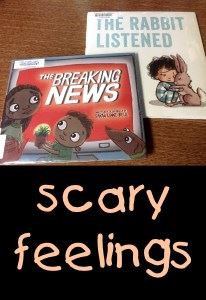 Breaking News & The Rabbit Listened are two books in the Scary Feelings program.