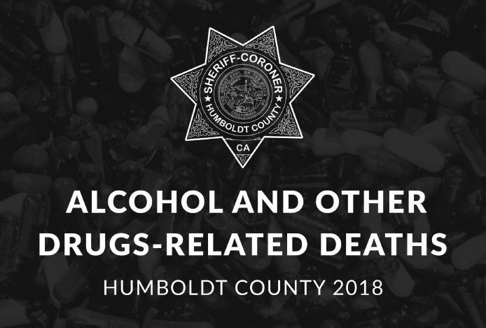Alcohol and Other Drugs Related Death Report Humboldt County 2018 Cover Image