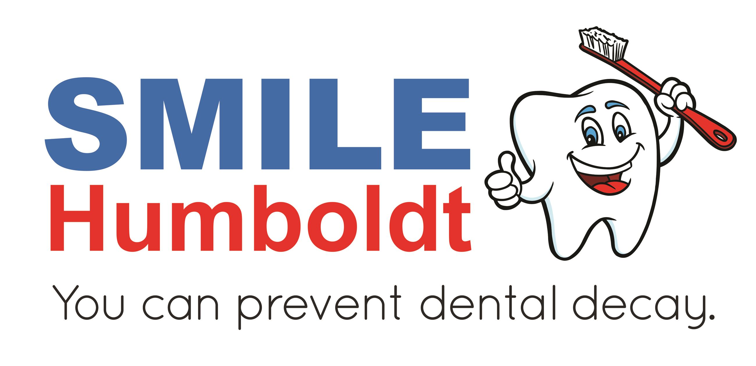 Smile Humboldt Logo. You can prevent dental decay.
