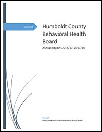 Behavioral Health Board report 2016/17, 2017/18 (PDF)