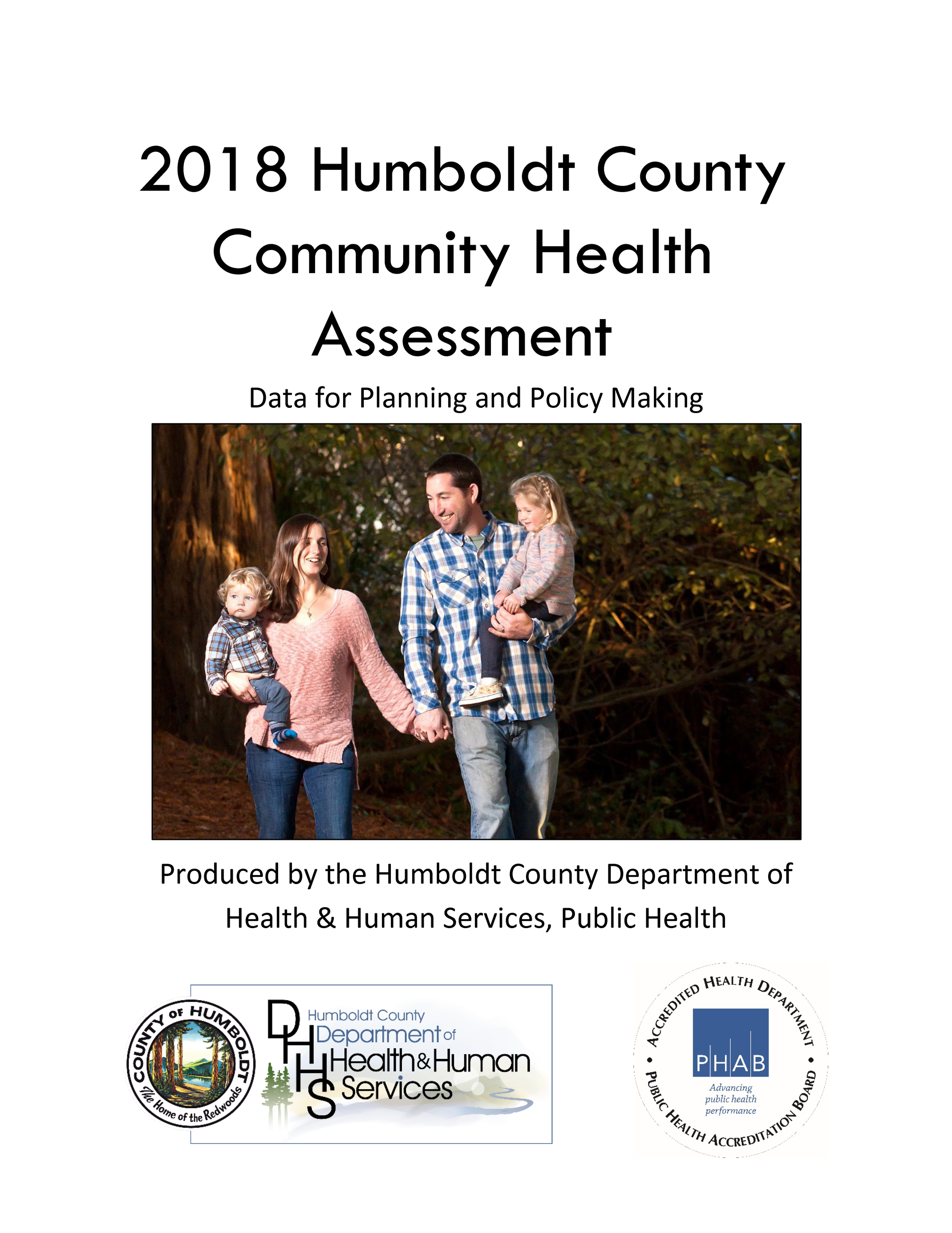 2018 Humboldt County Community Health Assessment Cover