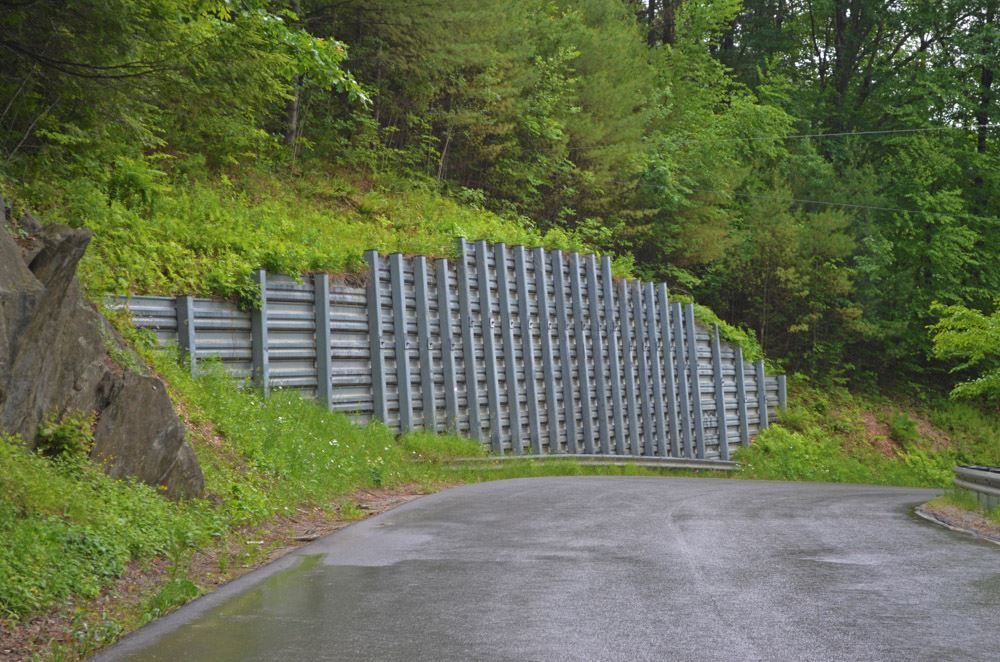 Example of a Retaining wall