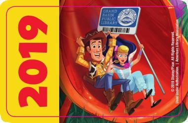 Sign up! Fans of Toy Story can get a card with the cartoons on it.