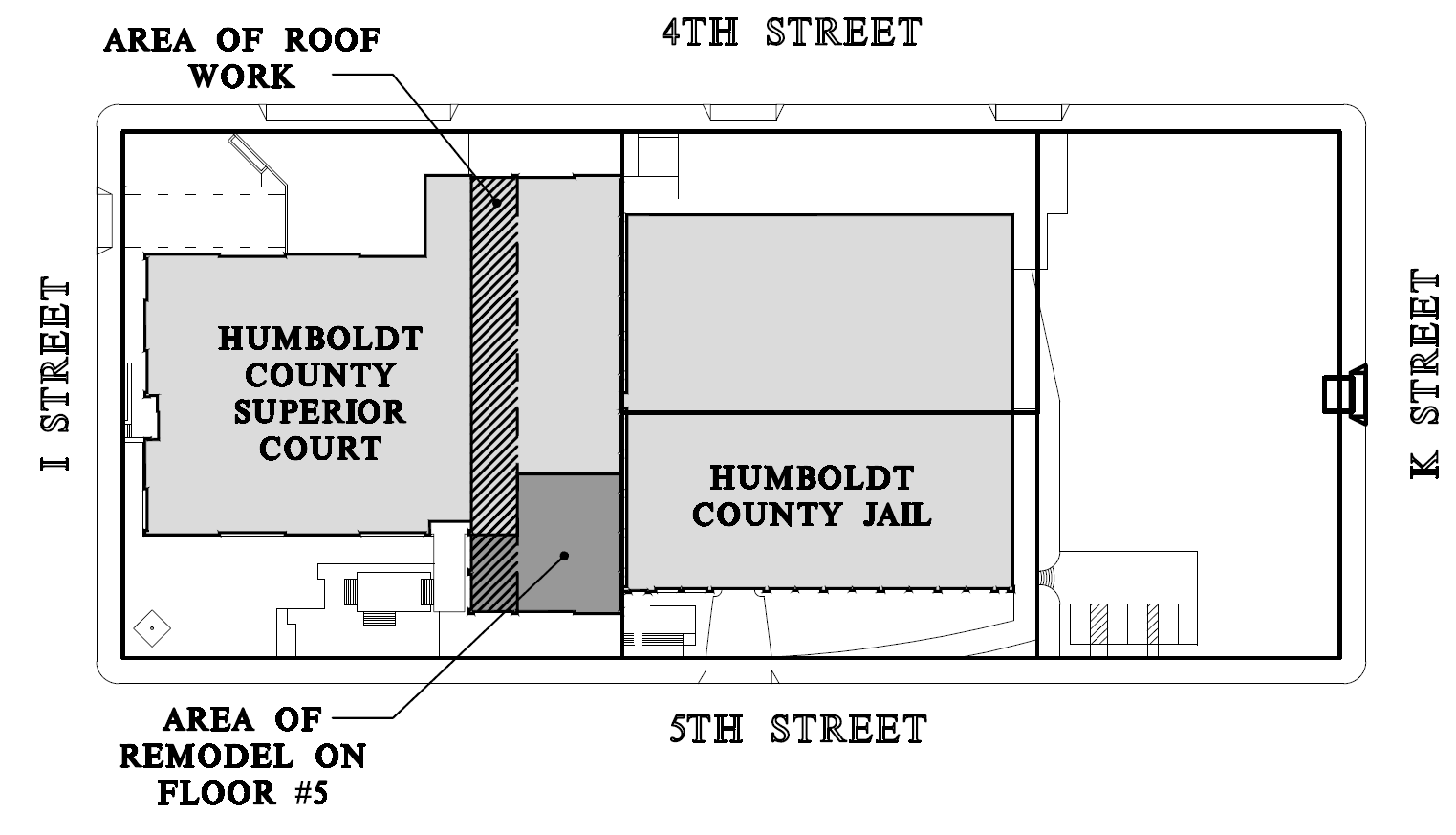 5th Floor Remodel Map