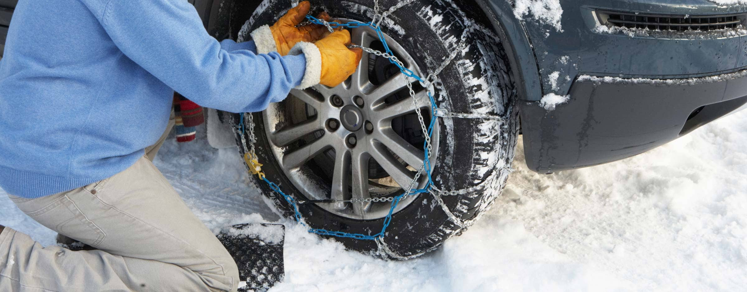 Snow Chains And Tires