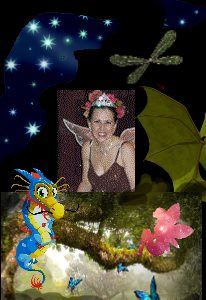 Dragons, fairies, and the winged magic of Shoshanna!