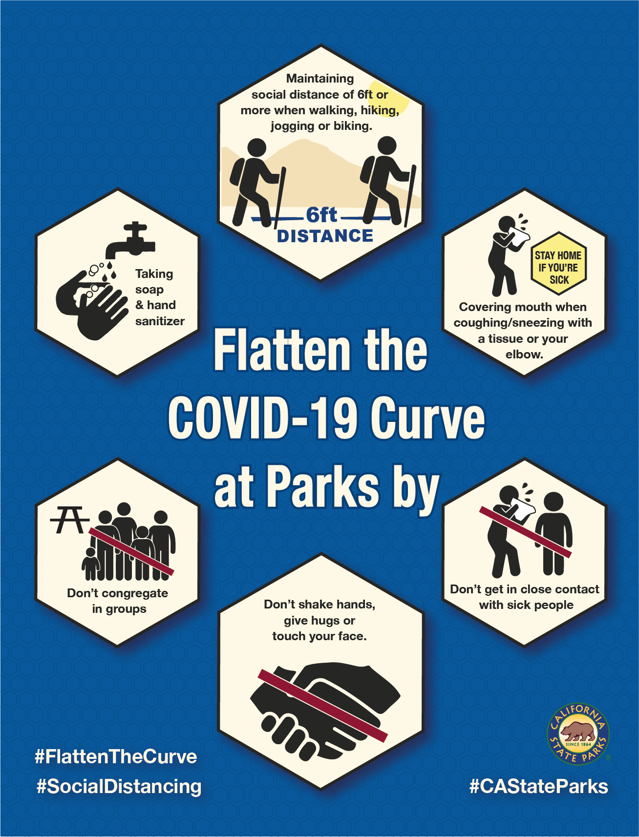 COVID-19 Safety Infographic