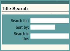 Search for books and movies by author, title, keyword or subject.
