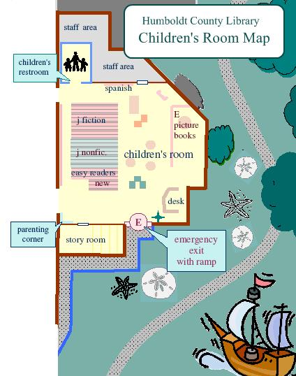 Map of Childrens Room
