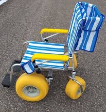 Beach wheel chair picture
