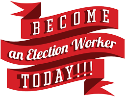 Become an Election Worker Graphic