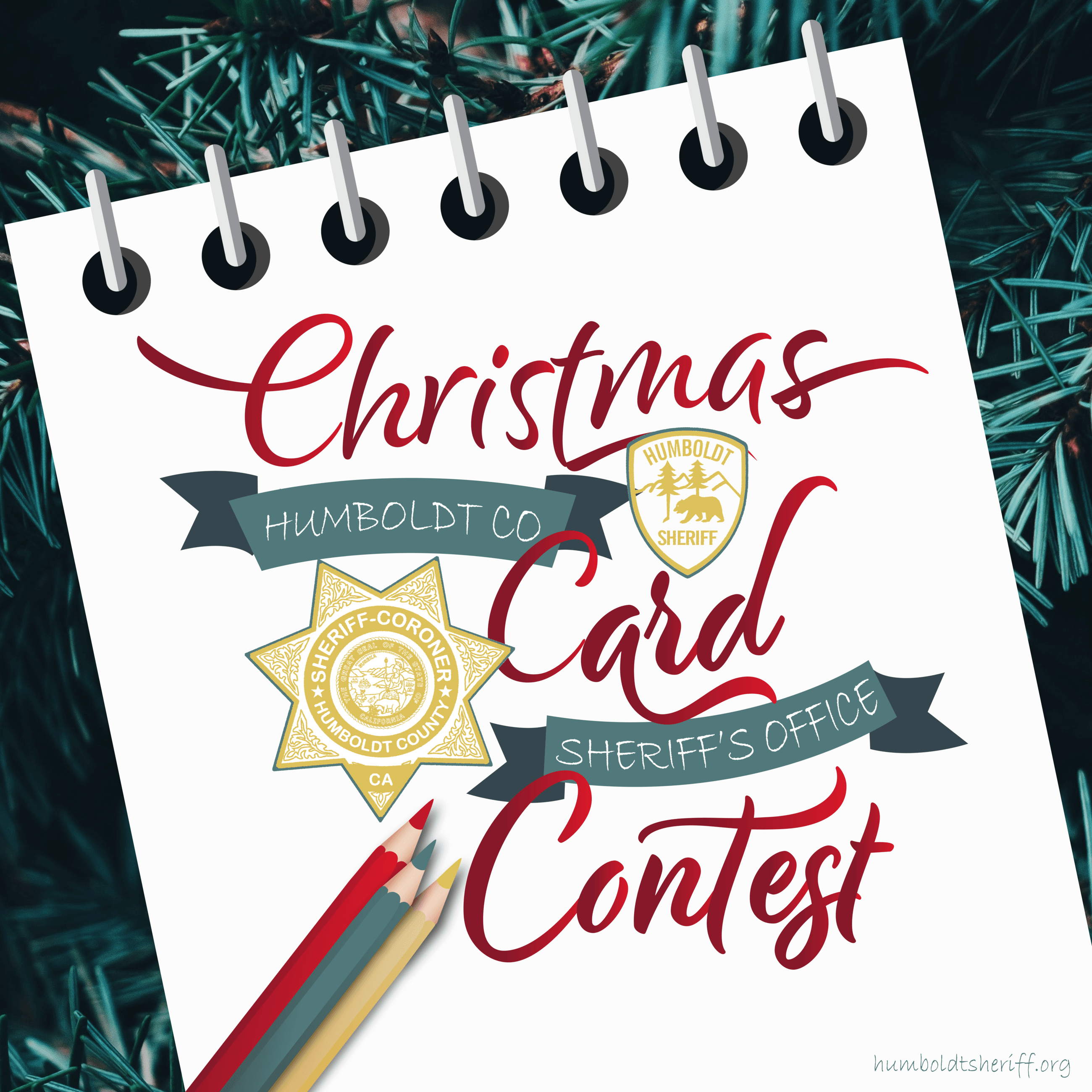 Christmas Card Contest Graphic