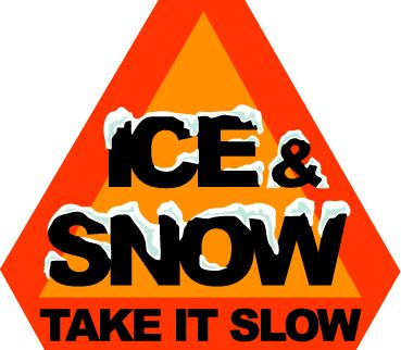 Ice and Snow Sign