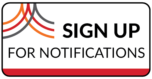 Sign up for notifications, new account