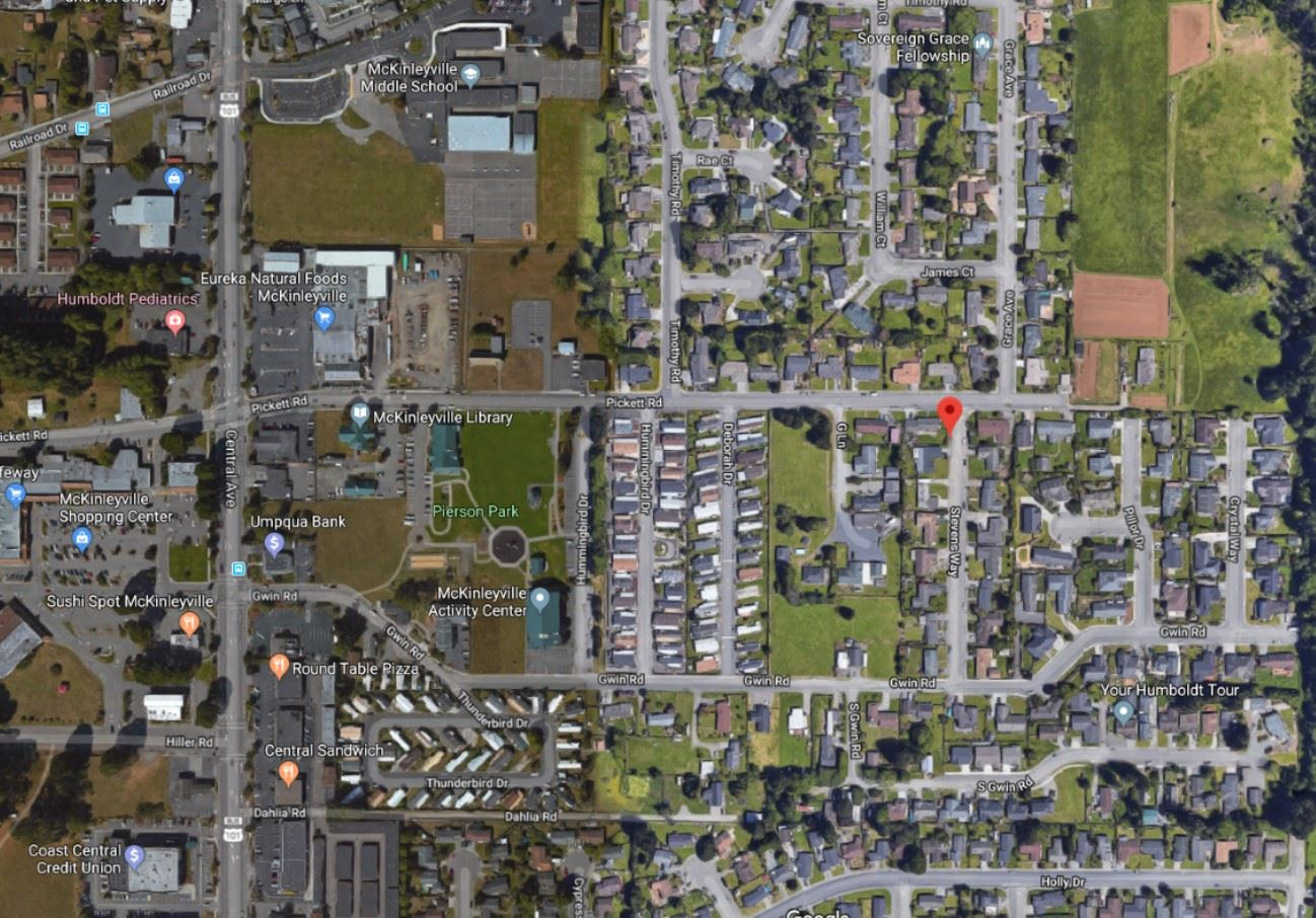 Stevens Way Map