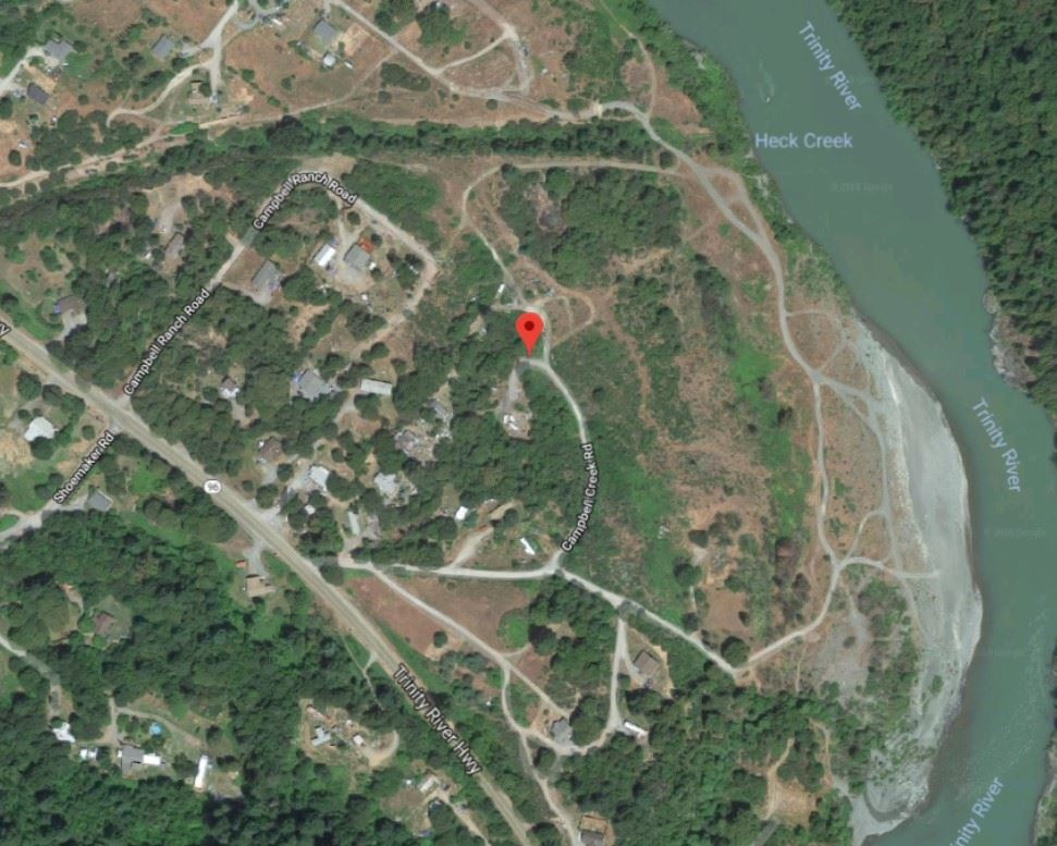 Campbell Creek Road map