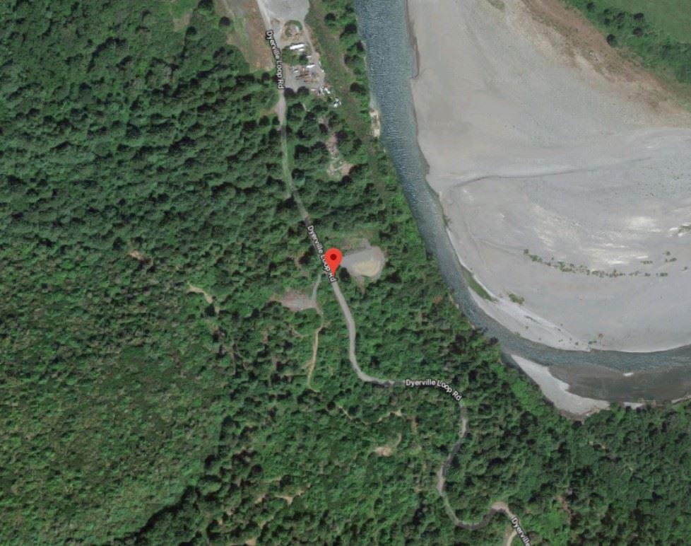 Dyerville Loop Road map