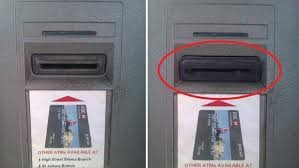 What do payment card skimmers look like