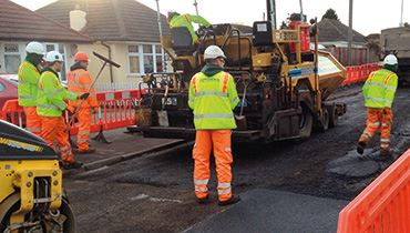 Road Crew at Work Photo