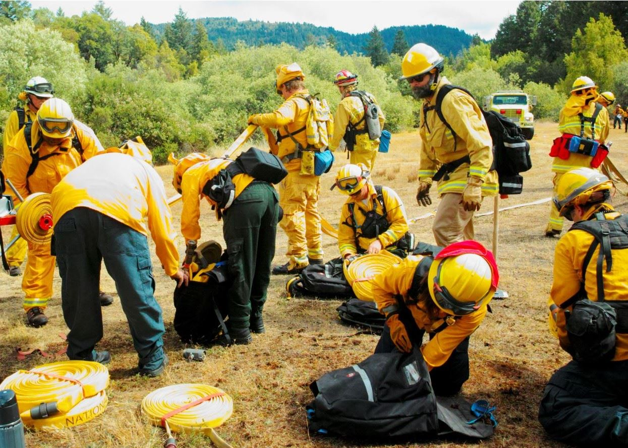 RT-130 Wildland Fire Training with local VFDs