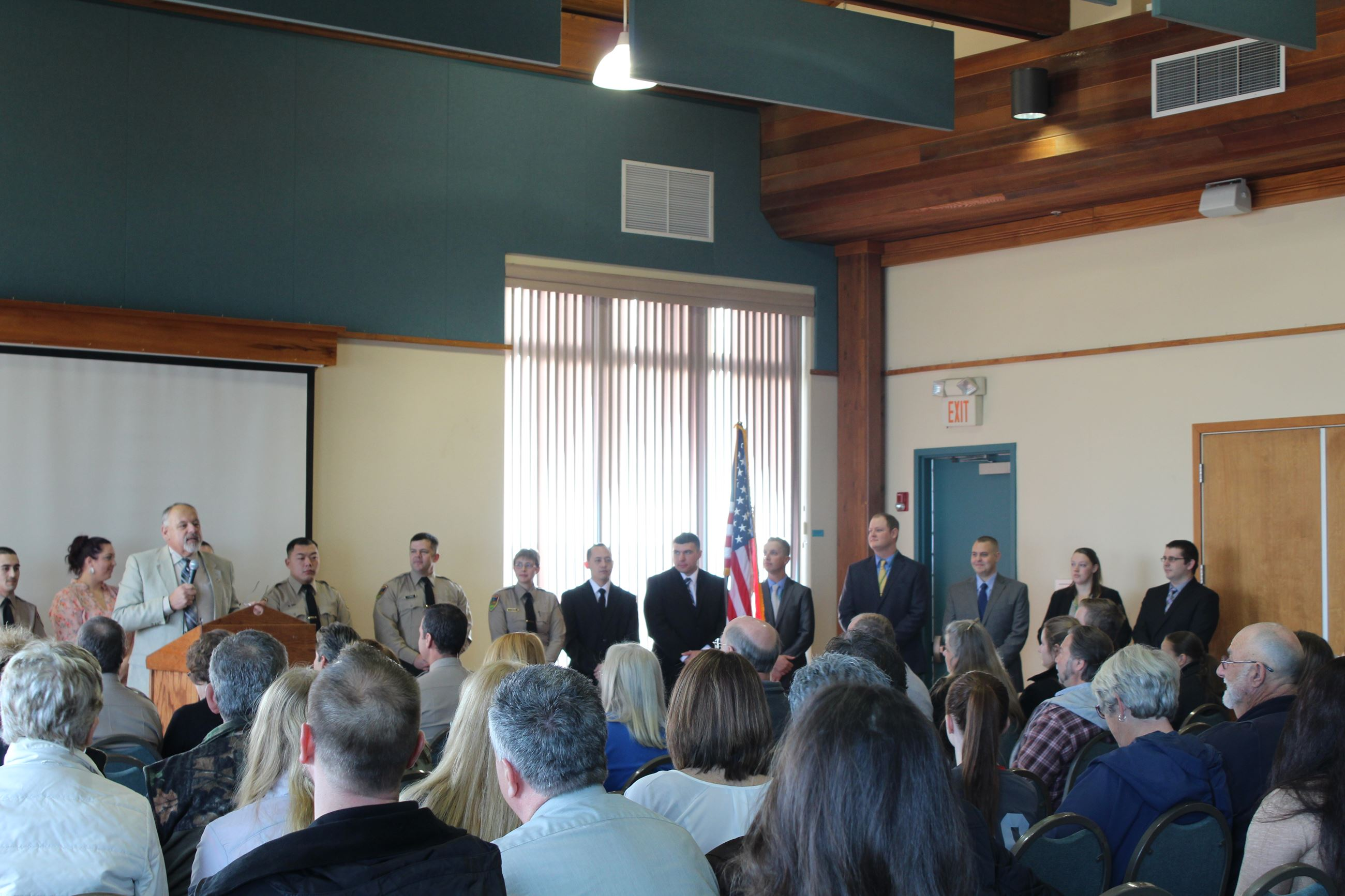 Swearing in Ceremony 12/19/2016