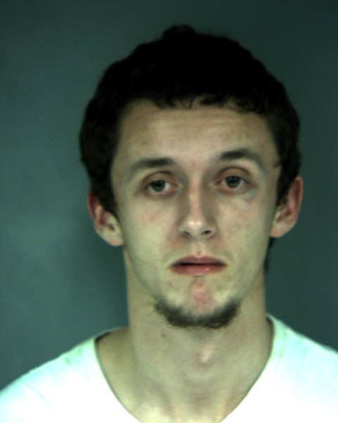 Booking photo of Tyler Bartlett