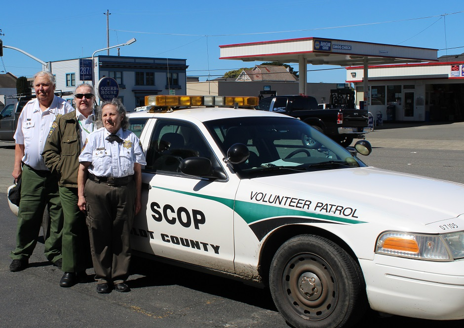 Three Sheriff's Citizen on Patrol members
